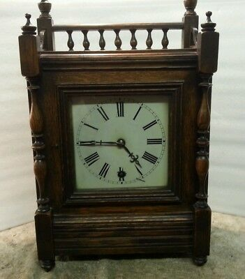 Antique bracket clock winterhalder & hofmeier