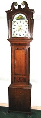 Grandfather Clock - Thomas Cooke - Oakham - Original & Complete. Free Delivery.