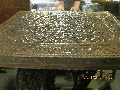 Asian Burmese carved table and legs