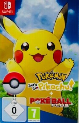 Pokémon - Let's Go, Pikachu! inkl. Pokéball Plus - Nintendo Switch - NEU & OVP