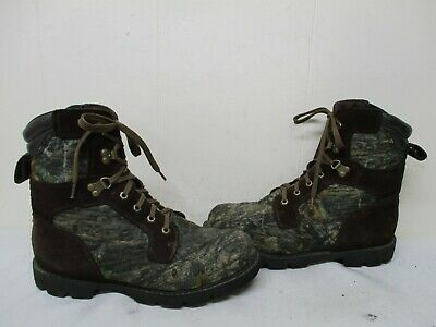 4d58763e39ac4 BRAHMA MENS HUNTING Boots Sz 7 M Camouflage Leather Insulated ...
