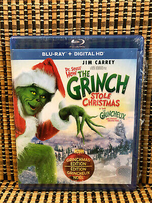 The Grinch, Original/Remake (3-Disc Blu-ray/DVD)Dr. Seuss/How Stole Christmas