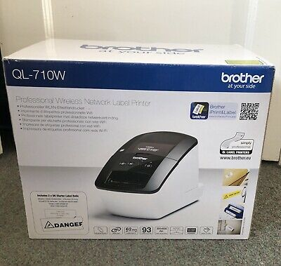 Brother Label Printer QL-710W WiFi Boxed