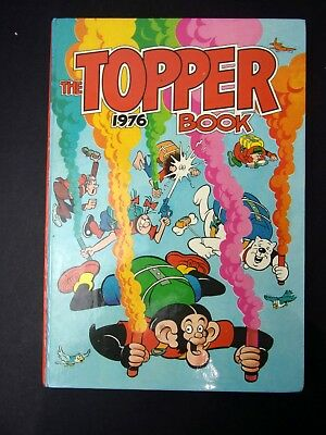 The Topper Book 1976 comic annual hardback