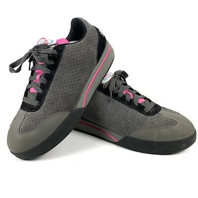 Reebok Ice Cream Blk Gray Pink Suede Boardflip Sneakers BBC Pharrell Men s  11.5 767fafe97