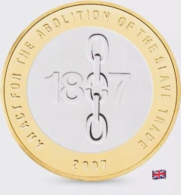 2007 £2 Coin Abolition Of The Slave Trade Rare Two Pounds (Coin Hunt)