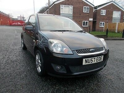 Fiesta 1.4 Zetec One Lady Owner 10 Stamp Service History Has Reverse Sensors