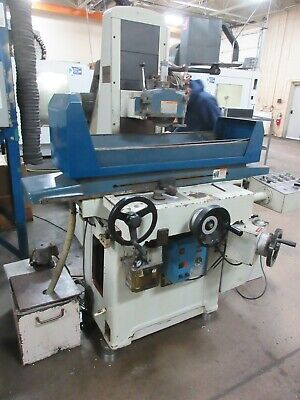 Used Kent KGS-818AHD Automatic Hydraulic Surface Grinder w/ Inc. Downfeed