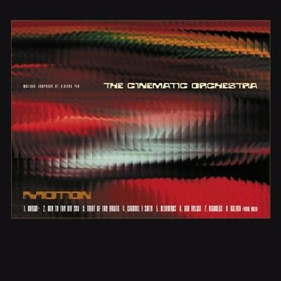 The Cinematic Orchestra - Motion  Cd New