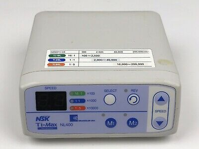 NSK Brasseler Ti-Max NL400  Dental Electric Motor Control Console Only - #1