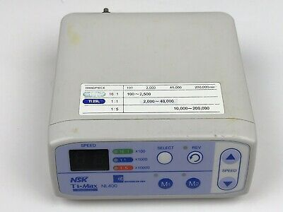 NSK Brasseler Ti-Max NL400  Dental Electric Motor Control Console Only - #2
