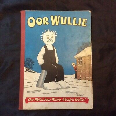 Oor Wullie Annual 1956 Very Good Condition Rare