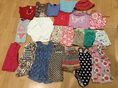 girls large bundle of spring/summer clothes, mini boden, Next age 3-4 years