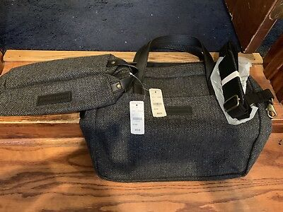 Classic Brooks Brothers Small Matching Travel Bag And Toiletry Bag NEW With Tag