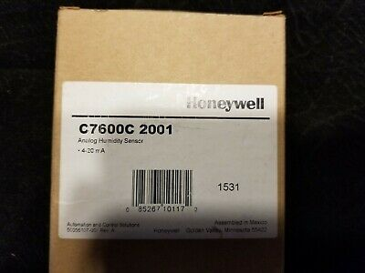 Honeywell Humidity Sensor C7600C 2001