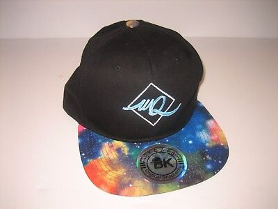 BK Caps Original Snapbacks SPACE Hat Snapback Adj. WQ Black Hat Flat Bill  2 7d1c9ff6ef9