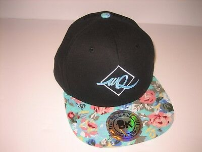 BK Caps Original Snapbacks Hawaii Hat Snapback Adj. WQ Black Hat Flat Bill   1 6887250df7b