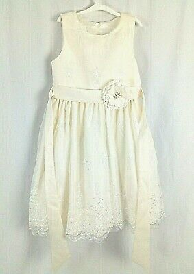 American Princess Party Formal Dress, Ivory A-line,Beautiful Pre-owned with Tags