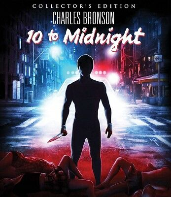 10 To Midnight (Collector's EditioN Blu-Ray Scream/Shout Factory with SLIPCOVER