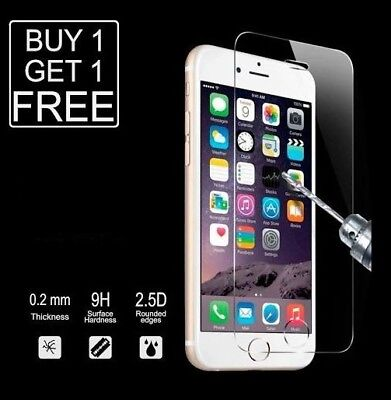 For iPhone 7 /  iPhone 8 Tempered Glass Screen Protector - CRYSTAL CLEAR /MY