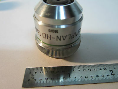 Optique Microscope Objective Zeiss Allemagne HD Epiplan 16x Optiques Bin # Axio