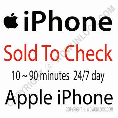 Apple iPhone iPad Check SOLD to by info check by IMEI Checker Service