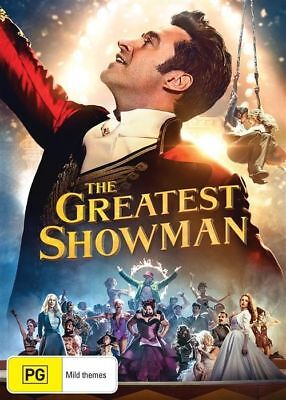 The Greatest Showman BRAND NEW Region 4