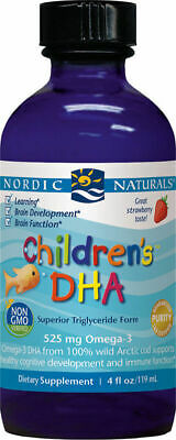 Nordic Naturals Children's DHA Liquid - Omega 3 DHA Fish Oil  119ml / 4 Fl oz
