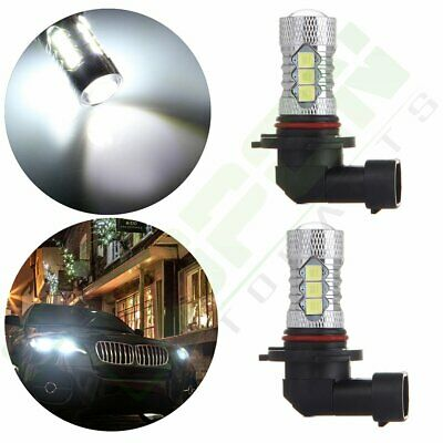 2x 6000K Fast Shipping 40W 9005 Bulbs Car Lamps 40W Cree LED 16 SMD Fog Light