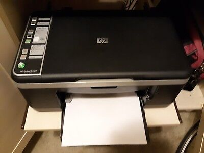 HP Deskjet F4180 All-In-One Inkjet Printer