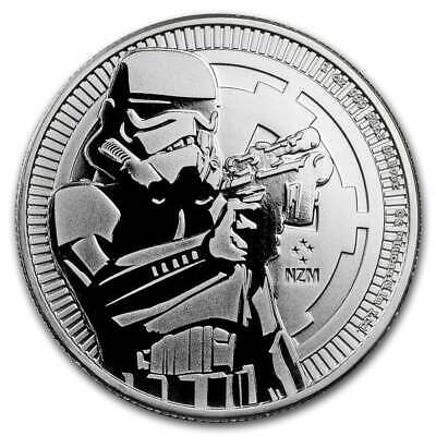 2018 Star Wars Stormtrooper 1oz .999 Silver Bullion Coin - New Zealand Mint