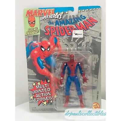 Marvel Cosmic Defenders THE AMAZING SPIDER-MAN TOY BIZ 1992 Action Figure