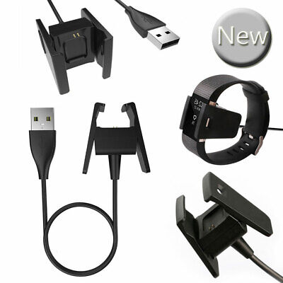 USB Cable Charger for Fitbit Charge 2 Fitness Tracker Wristband Lead Charging
