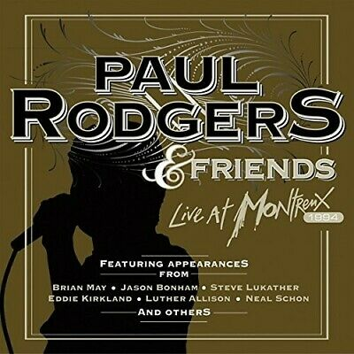 Paul Rodgers - Live At Montreux 1994  Dvd + Cd New