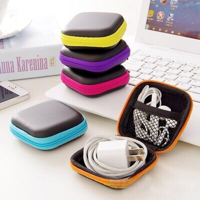 Travel Key Phone Charger USB Cable Earphone USB Organizer Case Storage Bag