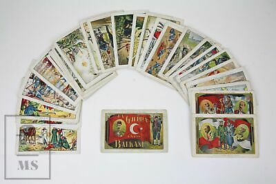 The First Balkan Wars 1912-1913 - Complete Chocolate Trading Cards Collection