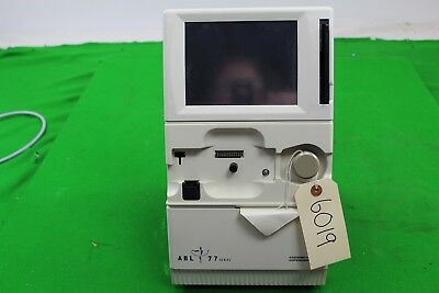 Radiometer Copenhagen ABL 77 Series pH Blood Gas & Electrolyte Analyzer Analyser
