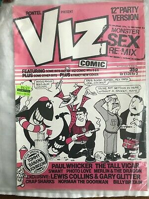"Viz comic number 12a (12"" Party Version) RARE - Adults only"
