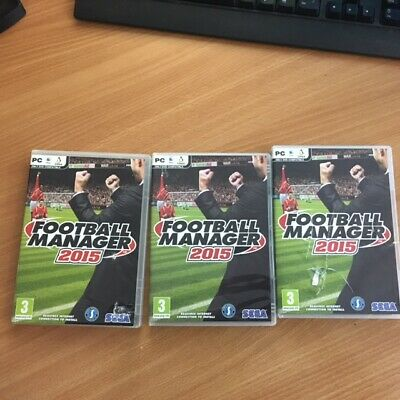 Football Manager 2015 PC & Mac Linux Media But Licence MAY NOT Activate on Steam