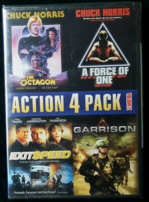 Action 4 Pack, Vol. 2 (DVD, 2010) Factory sealed