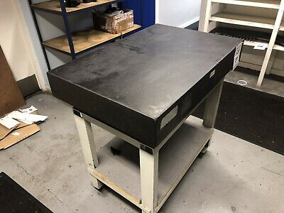 "Granite Surface Table 24"" X 36"". Including Stand"