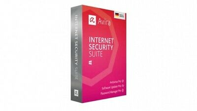 Avira Internet Security Suite 2019, 5 Geräte / 1 Jahr, ESD, Download