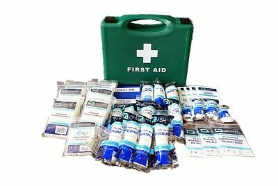Qualicare HSE 1-20 Person Workplace Medical Emergency First Aid Kit Box Refill