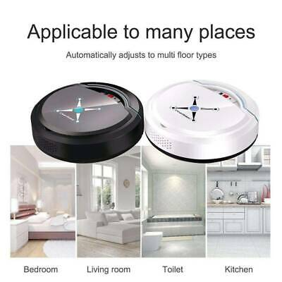 Self Navigated Smart Robot Vacuum Cleaner Rechargeable Automatic Sweeper Clean