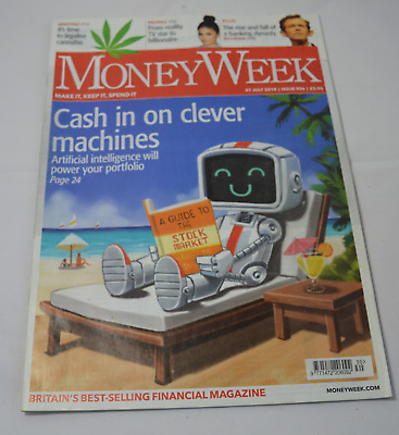 Money week Magazine Cash On Clever Machines Issue 906 2018