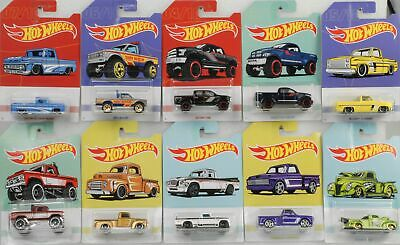 Premium Set Pick-up 1:64 assortment of 10 Release 2019 NEU Hot Wheels 965A