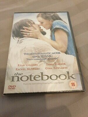 The Notebook (Ryan Gosling) - Dvd - Brand New And Sealed