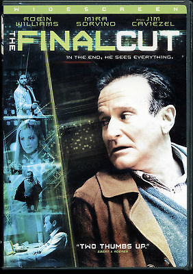 Final Cut (DVD, 2004, Widescreen) - Robin Williams, Mira Sorvoni, Jim Caviezel