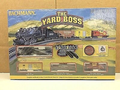 "Bachmann ""The Yard Boss"" N Scale Ready-to-Run Electric Train Set #24014"