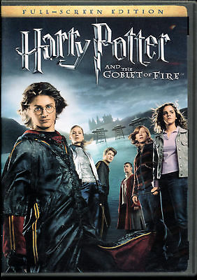 Harry Potter and the Goblet of Fire (DVD, 2006, Full Screen)